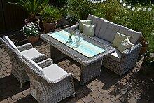bomey Rattan Lounge Set I Gartenmöbel Set