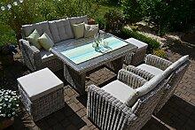 bomey Rattan Lounge Set I Gartenmöbel Set Sofa