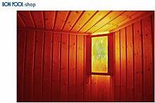 BON POOL Salzkristalllampe Eigenherstellung Saunabeleuchtung doppel