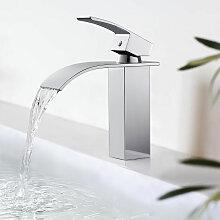 BONADE Badarmatur Wasserfall Wasserhahn Chrom