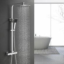 BONADE Duschsystem Regendusche ohne Armatur