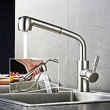 BONADE Edelstahl Armatur Wasserhahn Küche mit