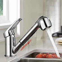 BONADE Küchenarmatur Ausziehbar Wasserhahn mit