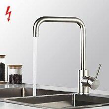 BONADE Niederdruck Mischbatterie Küchenwasserhahn