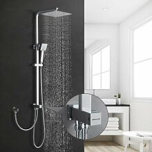 BONADE Regendusche Duschsystem ohne Armatur,