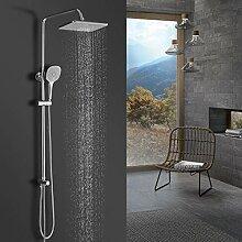BONADE Regendusche Ohne Armatur Duschsystem mit