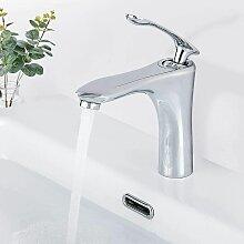 BONADE Waschtischarmatur Bad Wasserhahn Messing