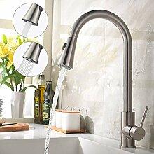 BONADE Wasserhahn Küche Ausziehbar Küchenarmatur