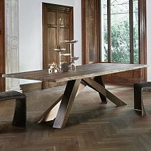 Bonaldo BIG TABLE Esstisch mit Waldkante