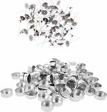 Bonarty 300 Stück Aluminium Teelichtbehälter Und