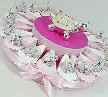 Bonboniere Gastgeschenk für Geburt Geburtstag
