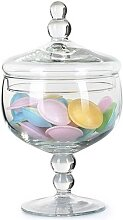 Bonboniere Glasdose Vorratsglas MARION auf Fuß D. 12,5cm H. 21cm la vida (15,95 EUR / Stück)