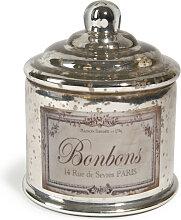 Bonbonniere Aromantic, silbern, H15