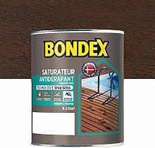 Bondex 364264Garten Luftbefeuchter rutschfest, Teak Schokolade matt, 1L