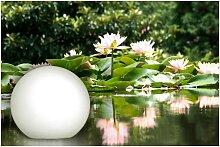 BONETTI LED Gartenleuchte Kugelleuchte, LED-Board