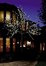 Bonetti LED Lichterbaum mit 600 LEDs beleuchtet,