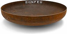 BonFeu Feuerschale Corten-Stahl Rost (Ø 60 cm)