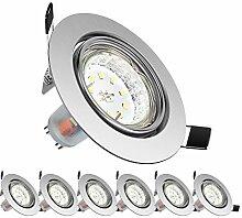 Bonled LED Einbaustrahler 230V, Schwenkbar LED