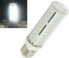 Bonlux 6 Satz 10W E27 LED T10 Birnen-Anzeigen-Schrank-Glühlampe 220 Volt-kühle weiße Röhren-LED 60 Watt-Glühlampe-Wiedereinbau-Lampe
