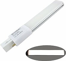 Bonlux G23 LED Lampe 6W Kaltweiß 6000K 2-Pin PL-C
