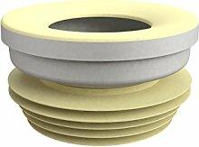Bonomini 8424lx10b0Manschette WC, weiß/gelb