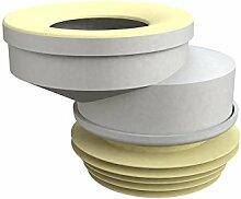 Bonomini 8428lx10b0Manschette WC, weiß/gelb