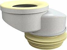 Bonomini 8429lx10b0Manschette WC, weiß/gelb