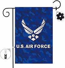 Bonsai Baum Air Force Seasonal Jute Garten Flagge