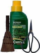 Bonsai-Baum-Pflege-Set, 3-teilig; Flüssignahrung,