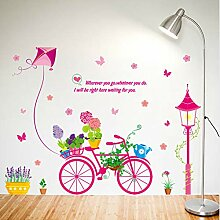 Bonsai Bike Wall Stickers for Kids Rooms Baby