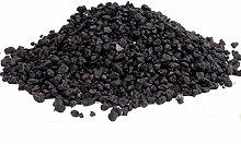 Bonsai-Erde Black Lava, Schwarze Lava, 2-8 mm, 10