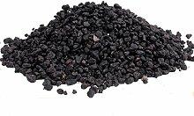 Bonsai-Erde Black Lava, Schwarze Lava, 2-8 mm, 4
