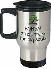 Bonsai-Reisebecher Bonsai-Wachstumsgeschenk,