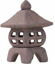 Bonsai-Shopping Keramik-Laterne für Teelicht in