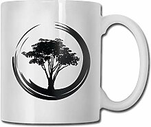 Bonsai Tree Coffee Mug 11 Ounce