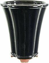 Bonsaischale 15.5x15.5x19.5cm Schwarz Sonstige
