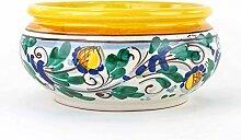 Bonsaischale aus Keramik von Caltagirone, sichere