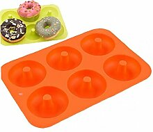Bontand Donut-silikon-backform Antihaft-Form-Bake