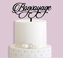 Bonvoyage Cake Topper