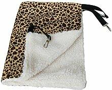 bonytain 35* 35CM niedliches Rat Kaninchen Käfig Katzen Hängematte Pet Dog Puppy Warm Bett Cover Tasche Decken Pet zum Aufhängen mehrfarbig