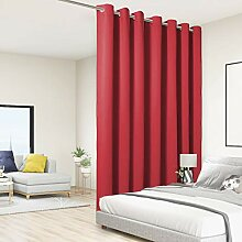 BONZER Extra breiter Raumteiler, schwarzer Vorhang