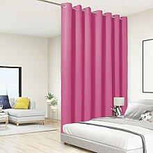 BONZER Extra breiter Raumteiler-Vorhang, totale