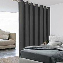 BONZER Extra breiter Raumteiler-Vorhang, totaler