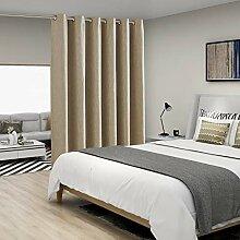 BONZER Leinenoptik Raumteiler Vorhang mit
