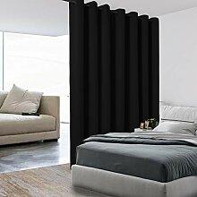 BONZER Raumteiler-Vorhang, Thermoisoliert, breit,