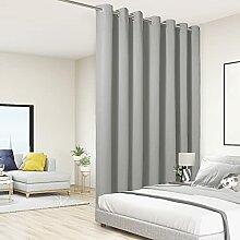 BONZER Raumteiler-Vorhang, totaler Sichtschutz,