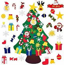 BOODANAO Filz-Weihnachtsbaum, Heimwerker, Filz,