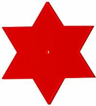 Boog Lichtspiel Sonnenfänger, Stern, rot, 24 x 24 x 1 cm, SLS01