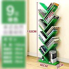 BOOK CASE SEXY- 9-Regal-Baum-Bücherregal,