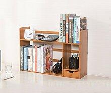 Book Jia bücherregale Bücherregal / Desktop-kreatives Bücherregal / kleines Bücherregal / Regal / Desktop-Speicher ( größe : 48*19*46CM )